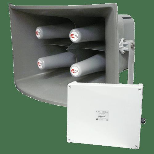 A141 – Warning System 141dB(A)